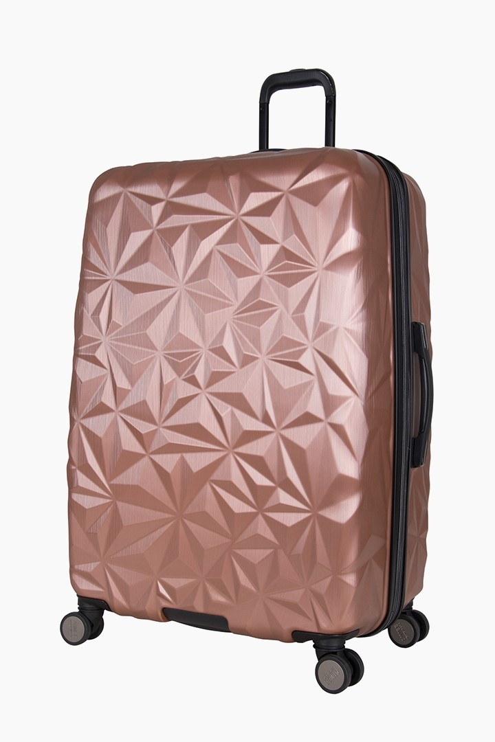 Aimee Kestenberg Geo Chic 28 Quot Hardcase Carry On Rose Gold