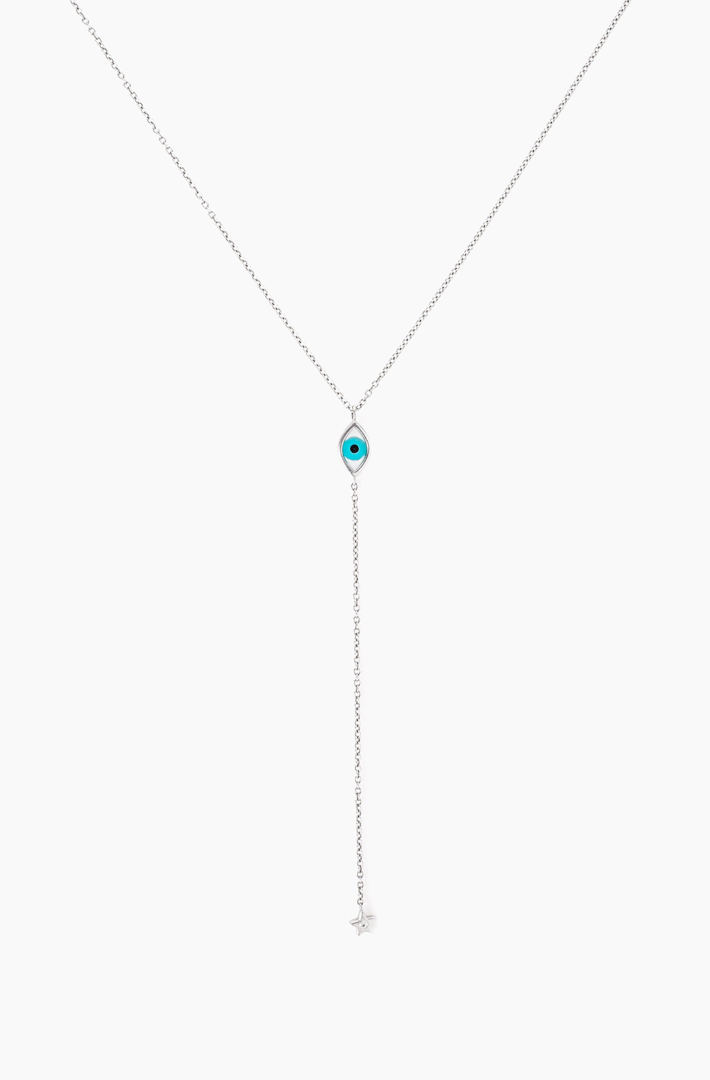 Eye Drop Star Necklace
