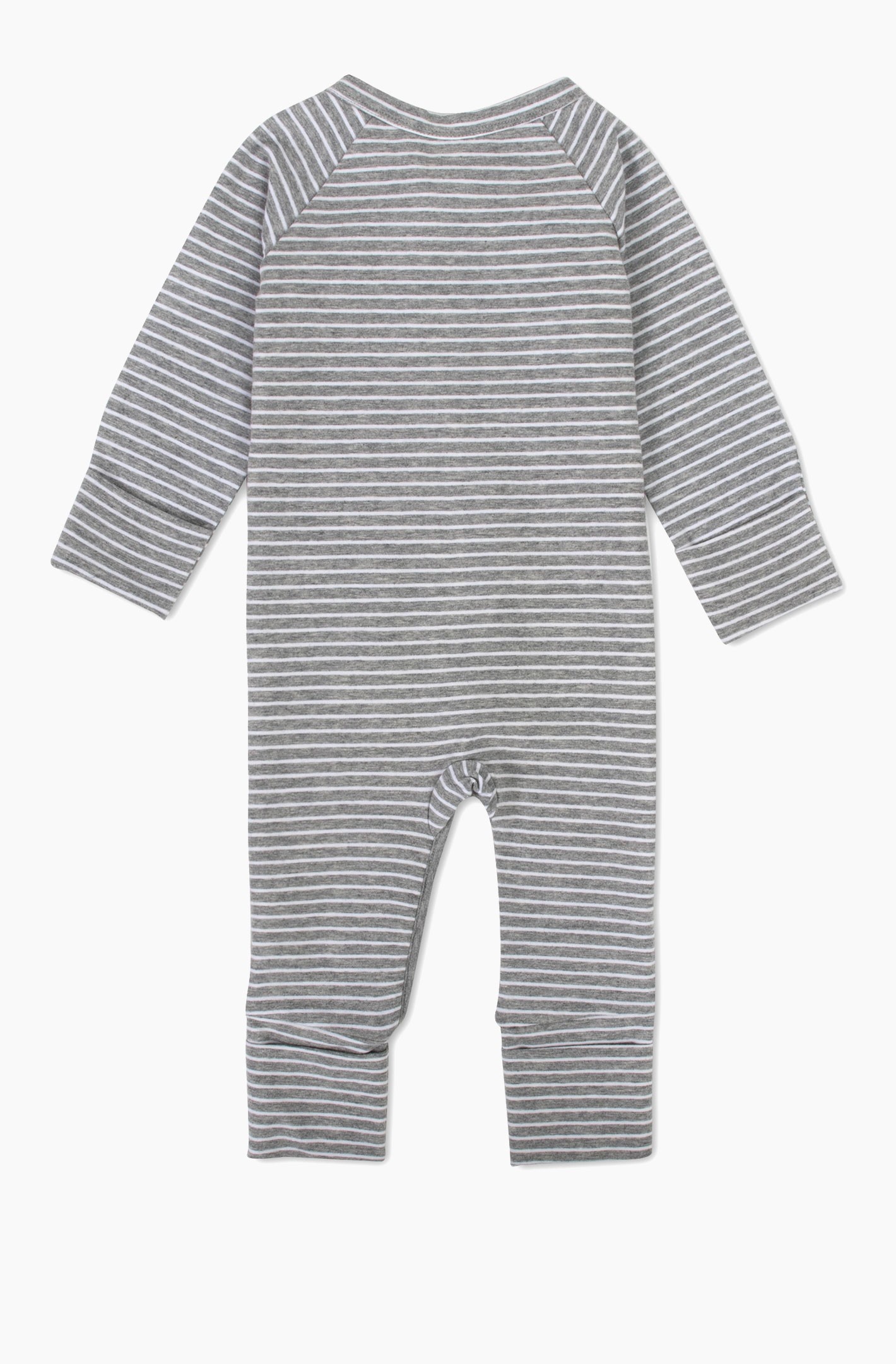 Yarn Dyed Striped Coverall