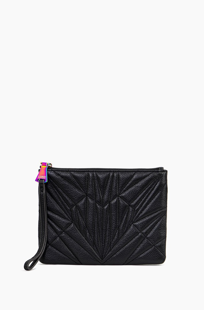It's a Love Thing Quilted Zip Clutch