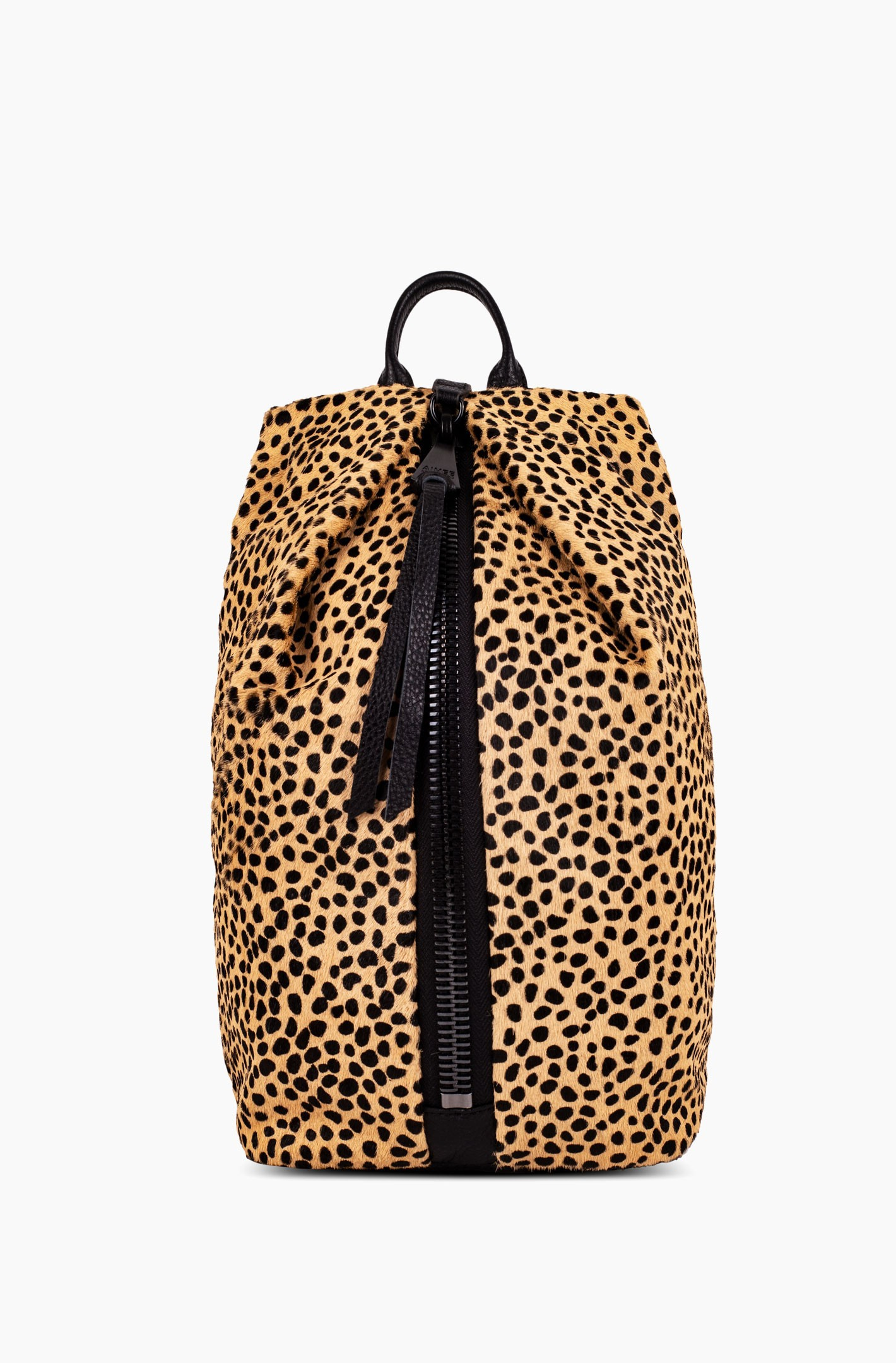 Tamitha Backpack, Natural Cheetah Haircalf