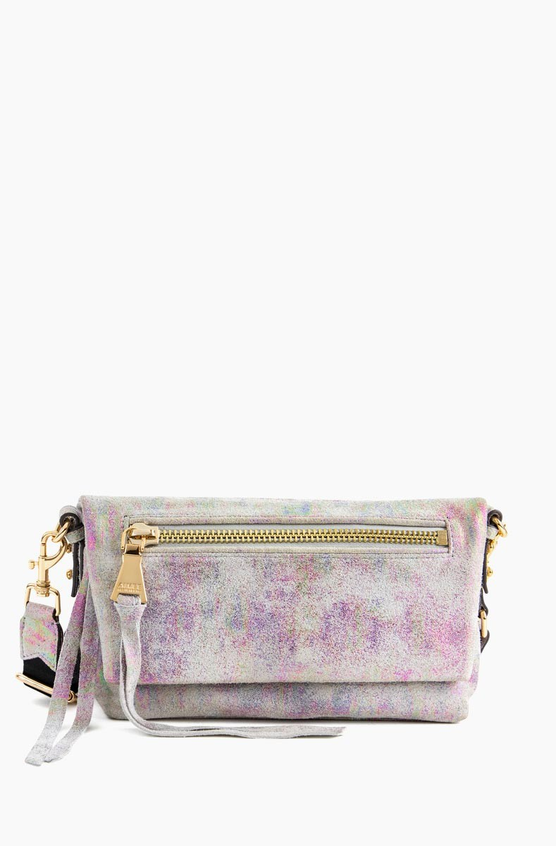 Zip Me Up Double Entry Crossbody