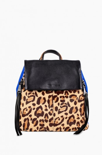 Bali Backpack, Jungle Leopard Haircalf