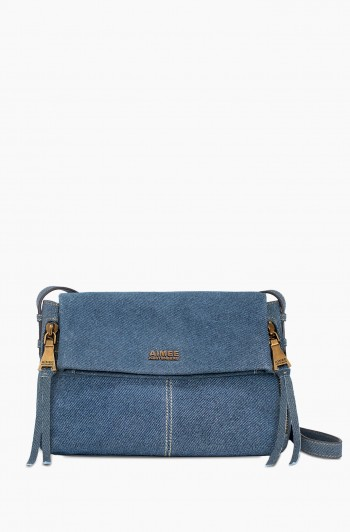 Bali 2 Crossbody, Dark Denim Leather