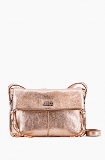 Bali 2 Crossbody, Light Rose Gold Metallic