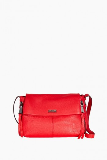 Bali Crossbody, Cherry Red