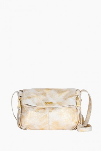 Bali Crossbody, Gold Brushed Metallic