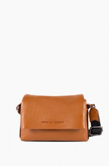 Biggest Fan Stadium Crossbody, Chestnut Brown
