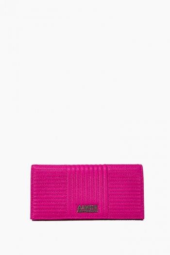 Biker Babe Bifold Wallet, Power Pink