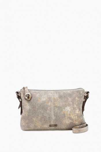 Born Free Crossbody, Shimmer Denim
