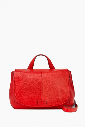 Boss Babe Large Crossbody, Cherry Red
