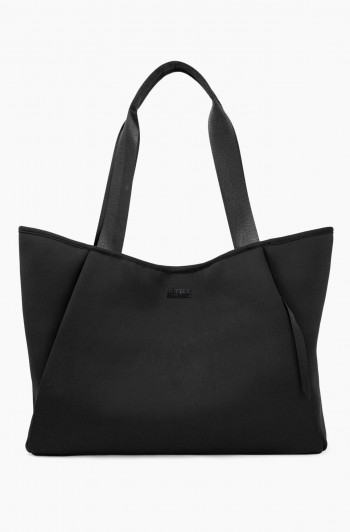 Care Free Neoprene Tote, Black Neoprene