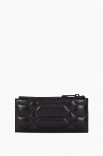 Dusk Till Dawn Slim Zipper Wallet, Black