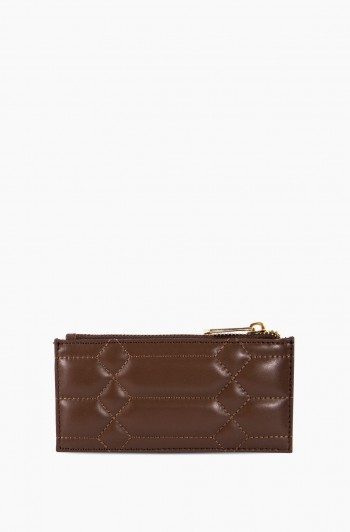 Dusk Till Dawn Slim Zipper Wallet, Espresso