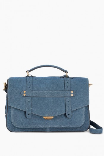 City Gypsy Messenger, Dark Denim Leather