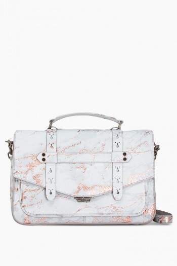 City Gypsy Messenger, Light Rose Gold Marble