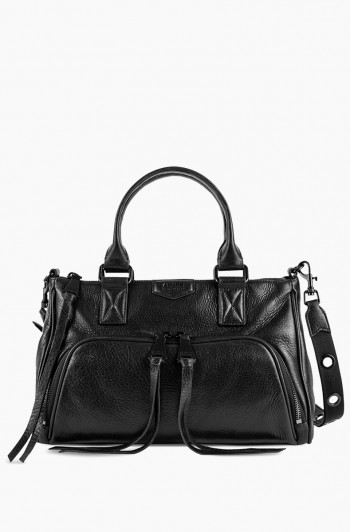 Day Dreamer Satchel, Black