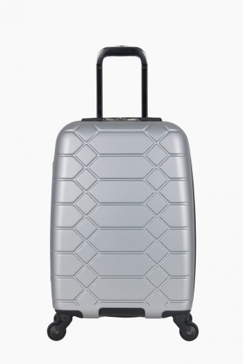 "Diamond Anaconda 20"" Hardcase Carry-On, Silver"