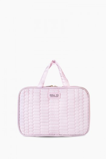 Doll 10 Jenna Hanging Travel Bag, Blush
