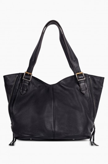 Dreamer Convertible Shopper, Black