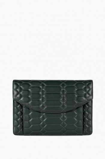 Dusk Till Dawn Clutch, Majestic Green