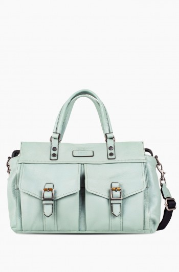Feel the Energy Satchel, Aquamarine