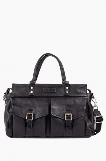 Feel the Energy Satchel, Black