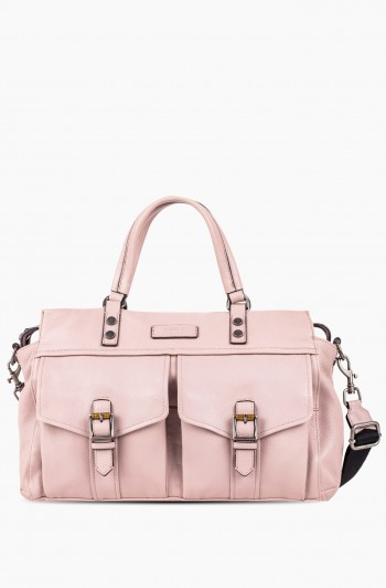 Feel the Energy Satchel, Chalk Pink