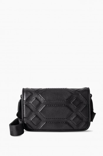 Game On Mini Crossbody, Black