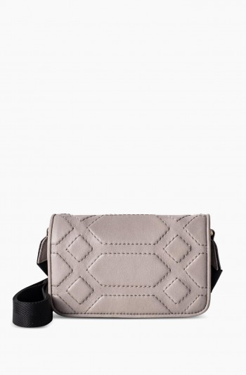 Game On Mini Crossbody, Slate Gray
