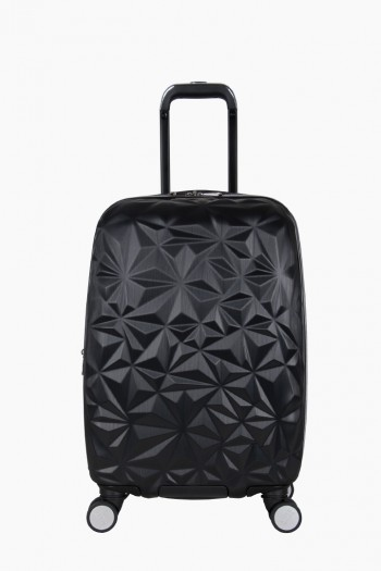 "Geo Chic 20"" Hardcase Carry-On, Geo Black"