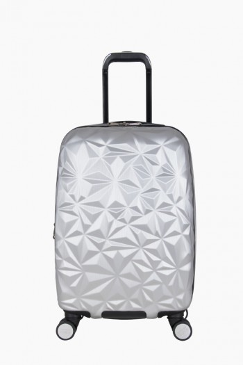 "Geo Chic 20"" Hardcase Carry-On, Geo Silver"