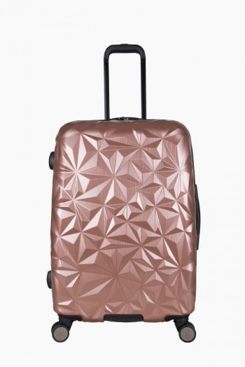 "Geo Chic 24"" Hardcase, Rose Gold"