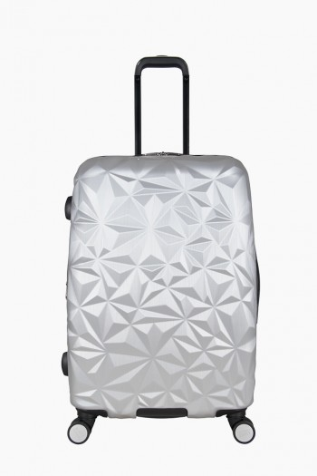 "Geo Chic 24"" Hardcase Carry-On, Geo Silver"