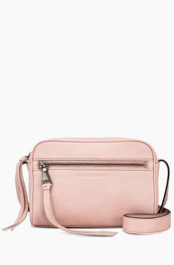 Going Places Crossbody, Chalk Pink