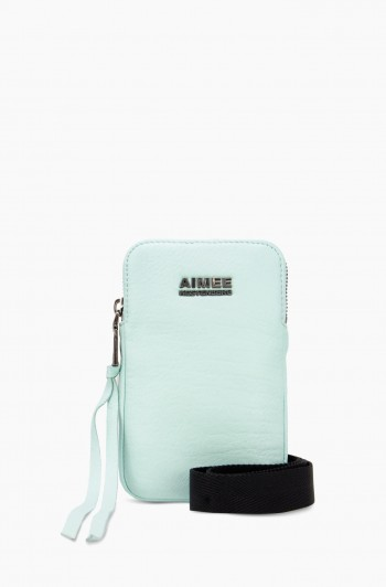 Just Saying Stadium Crossbody, Aquamarine