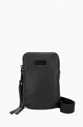 Just Saying Stadium Crossbody, Black