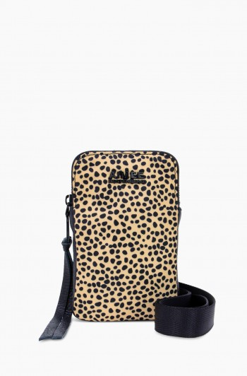 Nylon Just Saying Stadium Crossbody, Spotted Cheetah