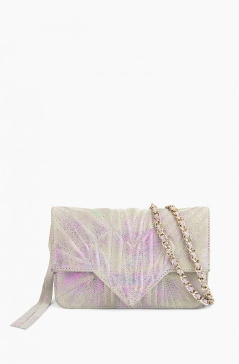 It's a Love thing Quilted Crossbody, Sunrise Metallic