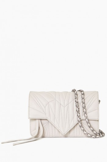 It's a Love Thing Quilted Crossbody, Vanilla