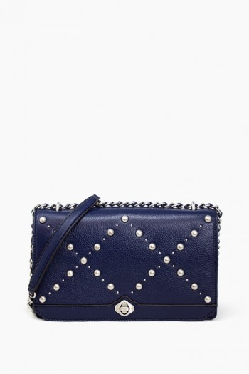 Marcel Convertible Crossbody, Deep Sea Blue