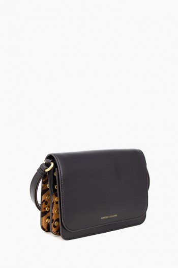 Mariah Crossbody, Large Leopard Haircalf