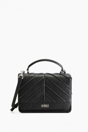Mia Expandable Crossbody, Black