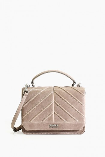 Mia Expandable Crossbody, Taupe