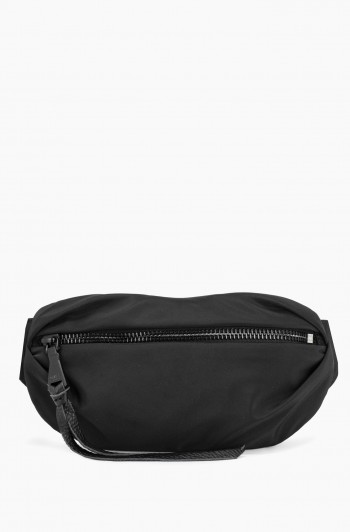 Nylon Milan Bum bag, Black
