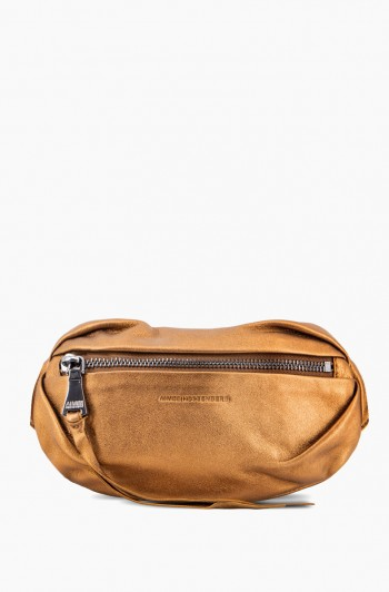Milan Bum Bag, Metallic Bronze