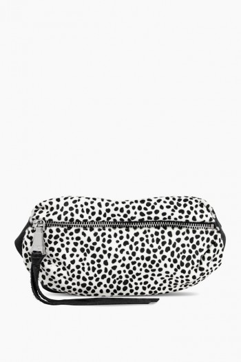 Milan Bum Bag, Spotted Cheetah Haircalf