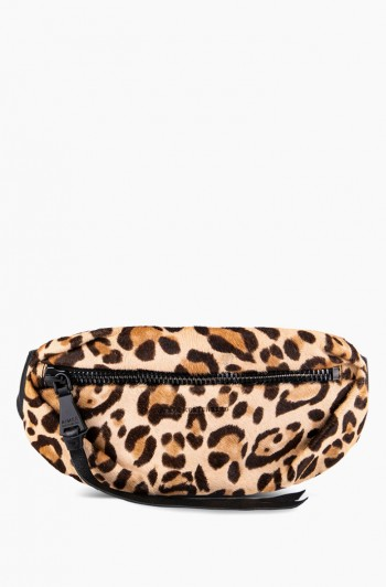 Milan Bum Bag, Jungle Leopard Haircalf