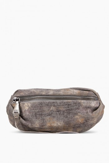 Milan Bum Bag, Shimmer Denim
