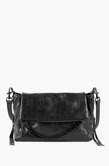 No B.S. Double Entry Crossbody, Black